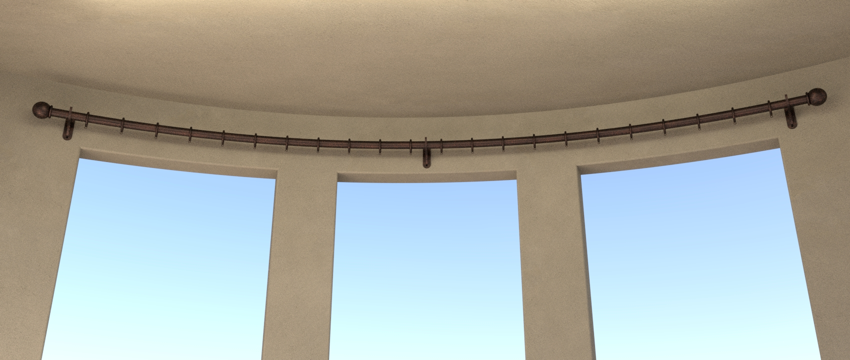 The Image Below Shows A Typical Example Of Curved Bay Window In This Rings Do Not Need To Be Welded